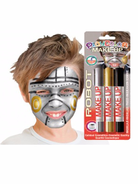 Blister Make Up Robot 3 Unidades
