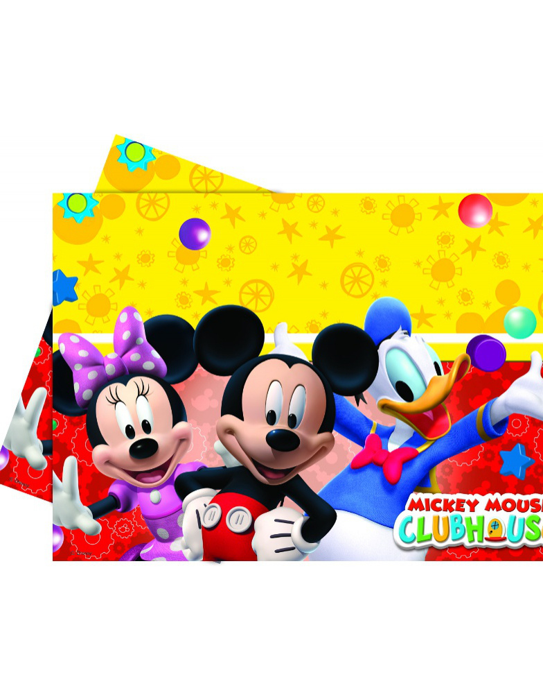 Mantel Mickey Clubhouse 120x180 Cm
