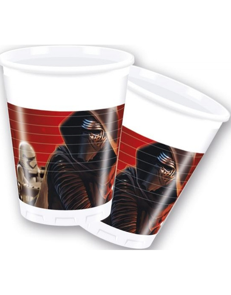 Vasos Star Wars 8 Unid.