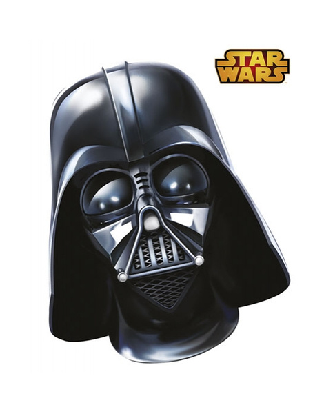 Careta Darth Vader carton