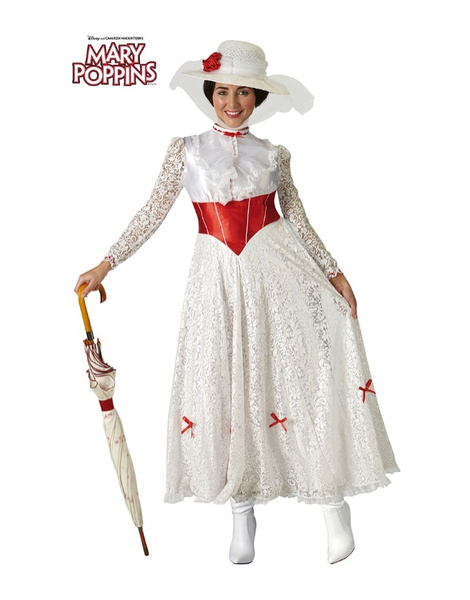 Disfraz Mary Poppins para mujer lux