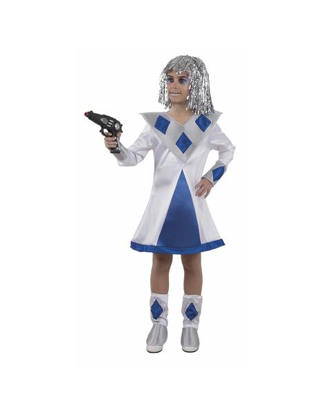 disfraz mujer galactica