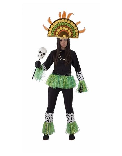 disfraz mujer zulu