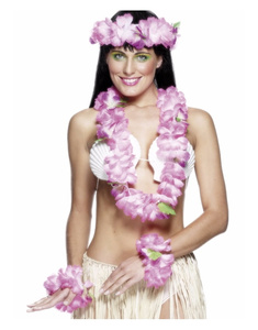 Set Hawaiano Rosa Lux