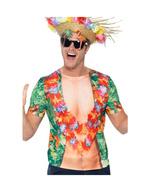 aa698085b Camisa Hawaiana multicolor
