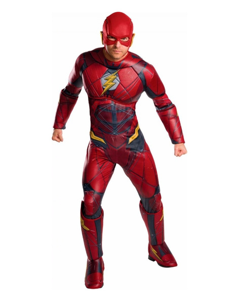 Disfraz Flash JL Movie deluxe Adulto