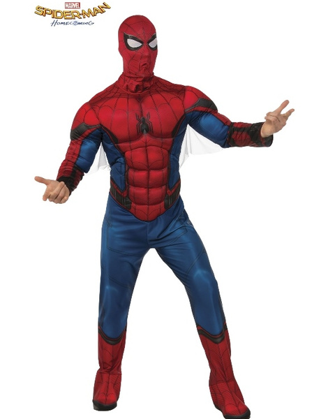 Disfraz Spiderman HC Musculoso Adulto