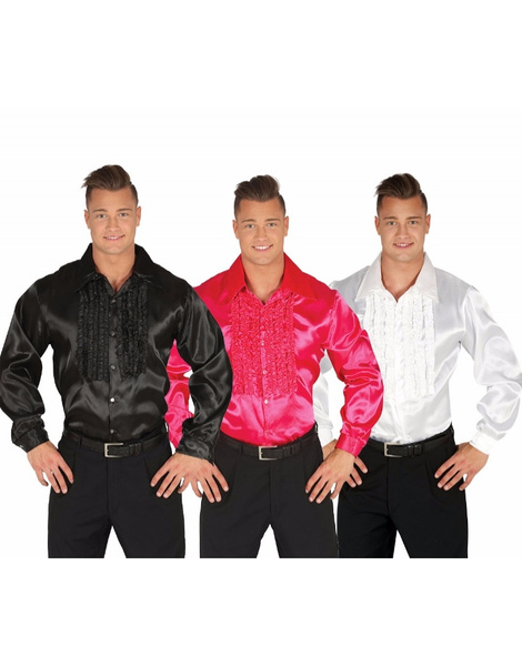 Camisa Disco adulto colores