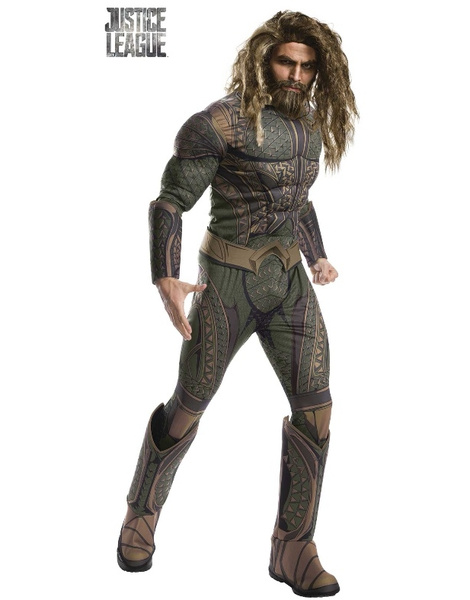 Disfraz Aquaman JL Movie Deluxe adulto