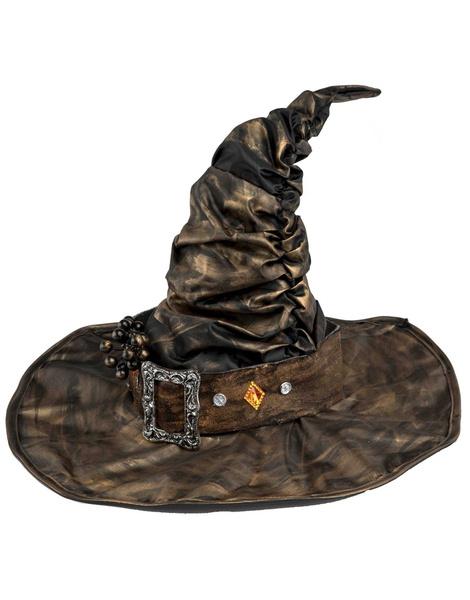 Sombrero Bruja con hebilla lujo 508bc01ddaa