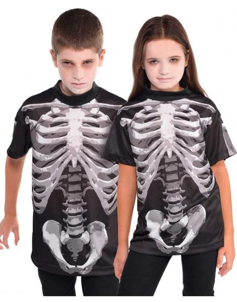 b37ca84e5 Camiseta Esqueleto para niño T.M