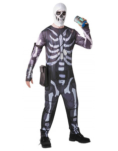 Disfraz Skull Trooper Fortnite adulto
