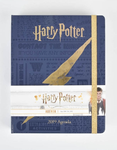 Agenda Premium 16 Meses Harry Potter