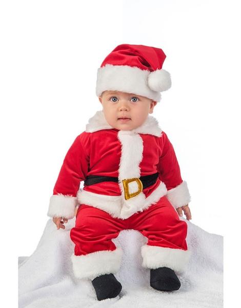 5b2a228df Disfraz Papa Noel para bebe DELUXE