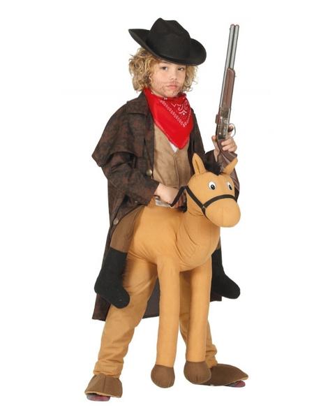 Disfraz Cowboy a caballo infantil T.7 9 3a8089a38e9