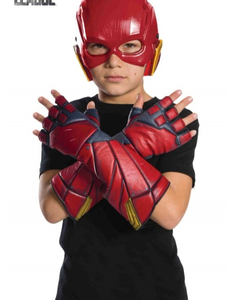 Guantes Flash JL movie infantil