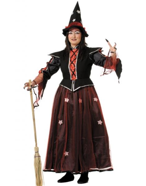 Disfraz de Bruja Lujo para Mujer