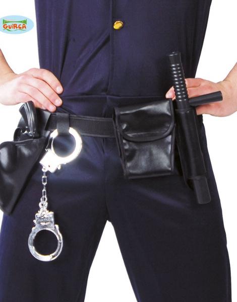 Cinturón De Policía Con Pistola Esposas. bbadff5d3c40