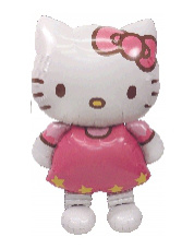 Globo Foil Hello Kitty Figura