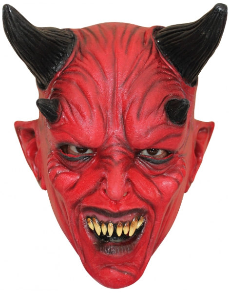 Devil Kid Mask Máscara Látex Nines