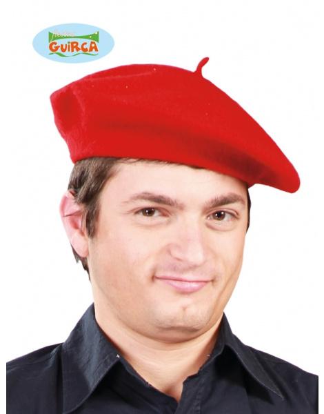 Boina Color Roja lujo a4b30392582