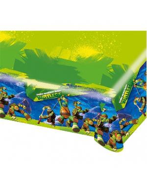 Mantel pl stico tortugas ninja 120x180 - Mantel plastico ...