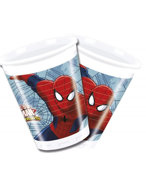 Vasos  Ultimate Spiderman  8 Unid.