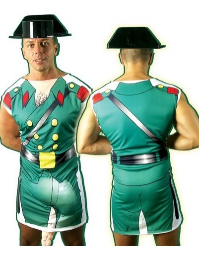 Set Disfraz Guardia Civil Adulto eco