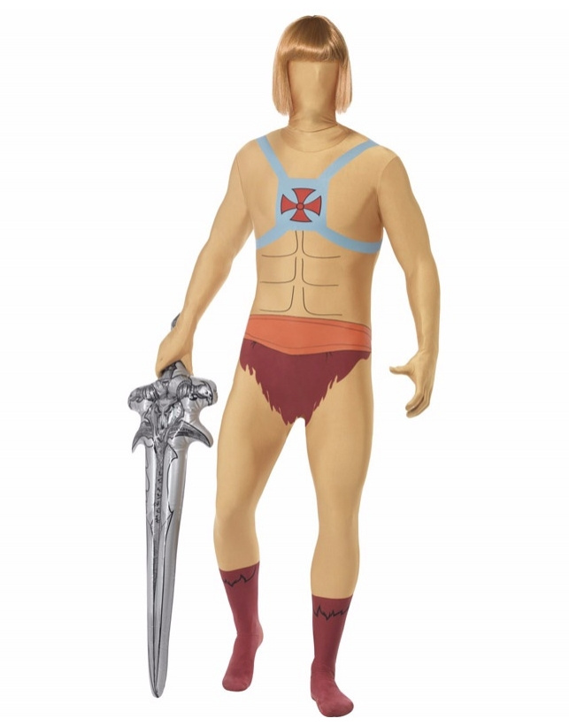 He-man Second Skin And Inflatable Espada