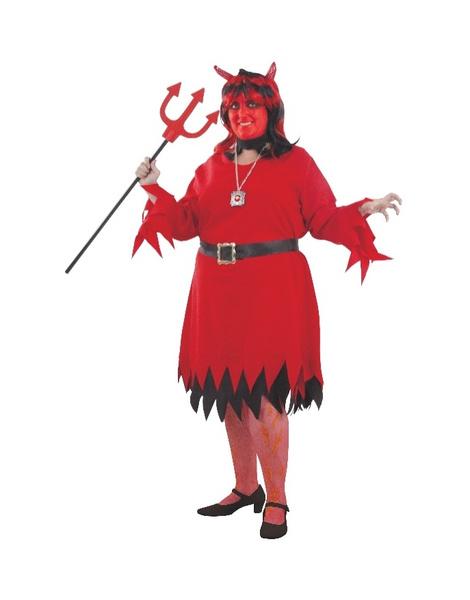 Disfraz De Demonio Mujer Tallas Grandes