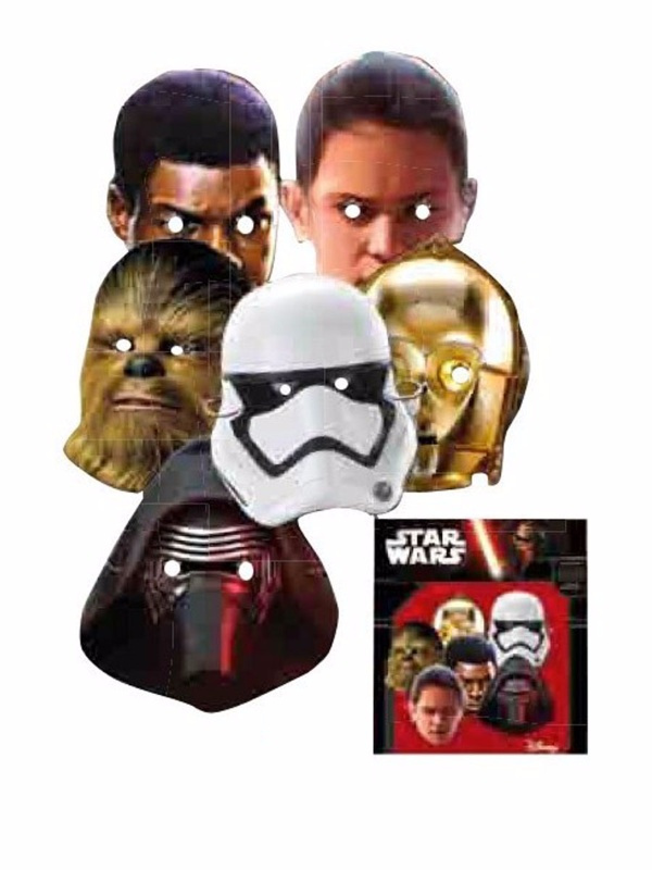 Bolsa 6 Caretas Star Wars