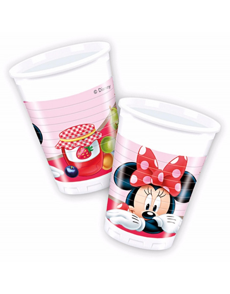 Bolsa 8 Vasos Minnie Jam Packed love